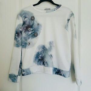 Embellished Zara Sweatshirt